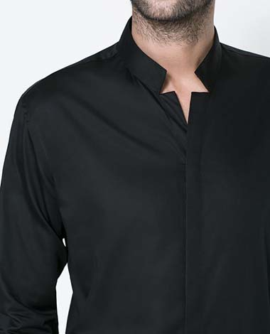 ddf48cf90d89 Μαύρο κοστούμι – Μαύρο πουκάμισο  Ο συνδυασμός που